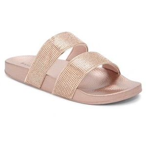 Shoes - Pink Crystal Sandals